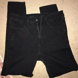 AE High Waisted Jeggings size 12